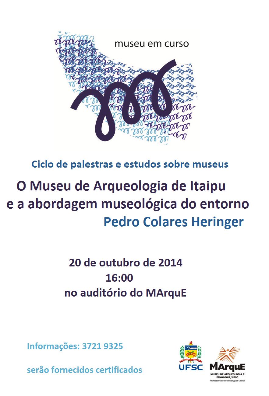 MUSEU EM CURSO - outubro 2014