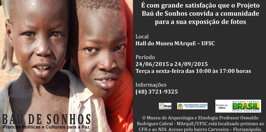 Convite Exposição Baú de Sonhos pw