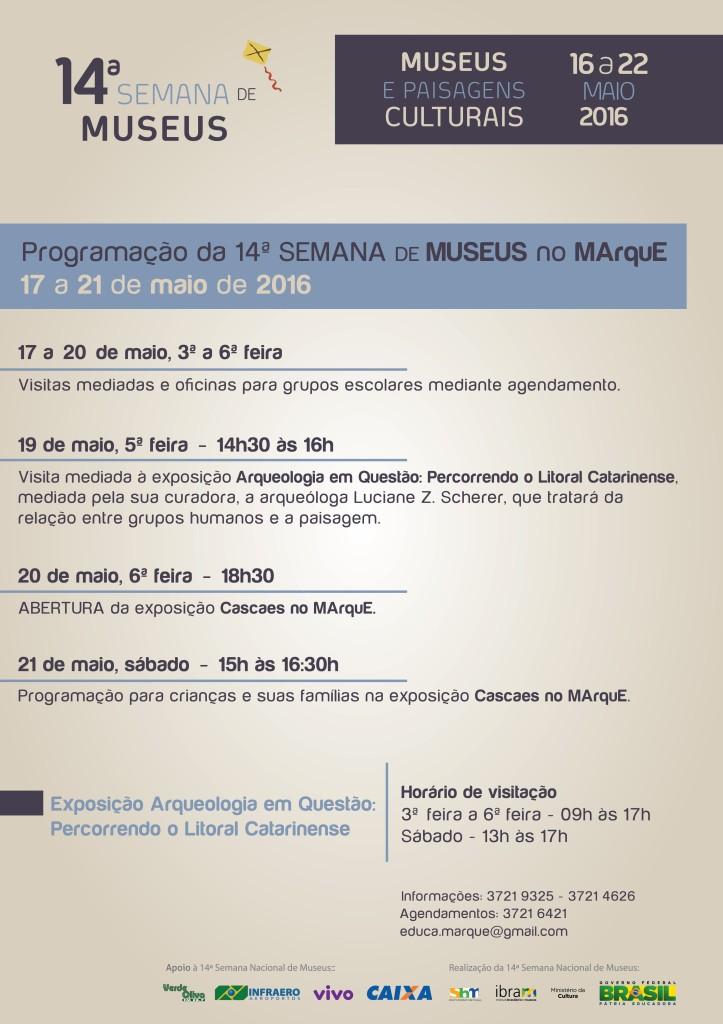 Cartaz Semana de Museus